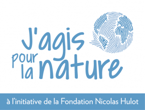Logo J'agis pour la nature - Fondation Nicolas Hulot