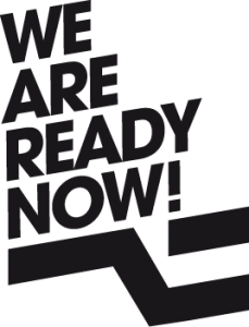 Logo We Are Ready Now