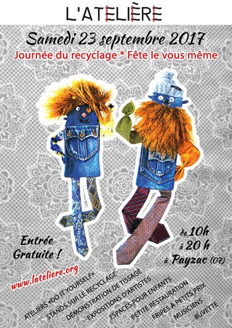 Journée du recyclage, fête le vous même !