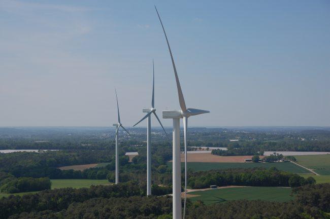 Inauguration du parc éolien public et citoyen d'Avessac