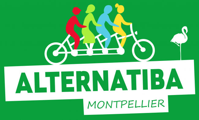 Logo ALTERNATIBA-MONTPELLIER/COLLECTIF POUR LA TRANSITION CITOYENNE