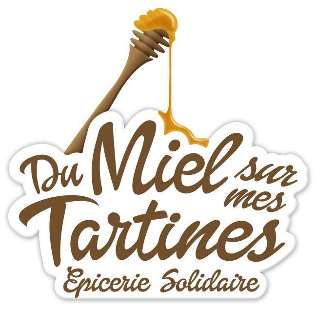 Logo Du Miel sur mes Tartines