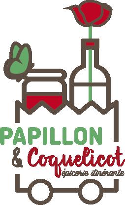 Logo Papillon et Coquelicot