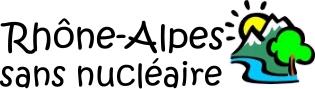 Logo Rhône Alpes Sans Nucléaire  Lyon et Sortir du Nucléaire Bugey