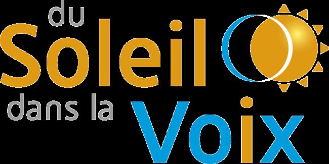 Logo DU SOLEIL DANS LA VOIX