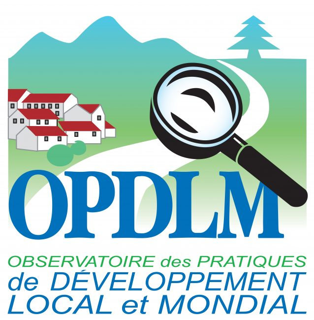 Logo OPDLM (observatoire des pratiques de developpement du local au mondial)