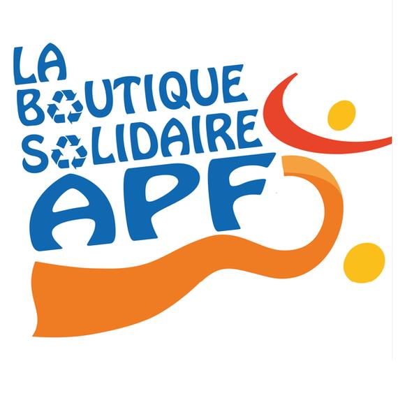 Logo Boutique solidaire APF Valence