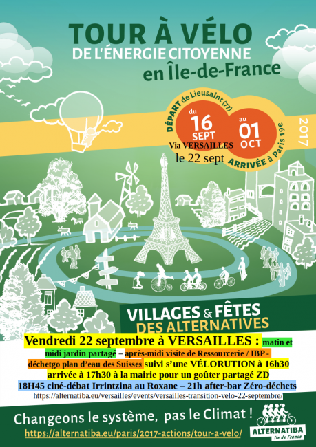 Vélorution Versailles