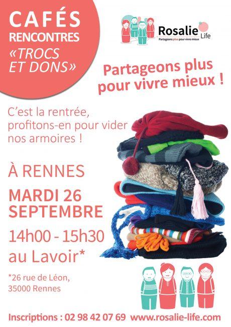 Café rencontres « trocs et dons »
