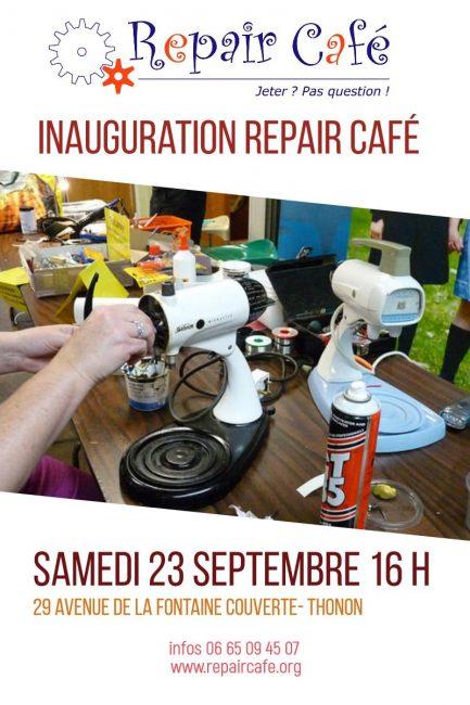 Inauguration du Repair Café Thonon