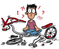 Atelier d'auto-réparation de vélos