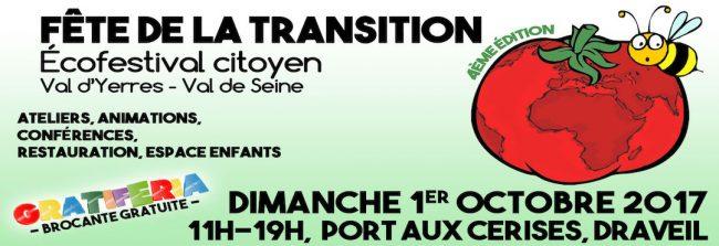 Fête de la transition - Eco-festival citoyen - Val d'Yerres Val de Seine