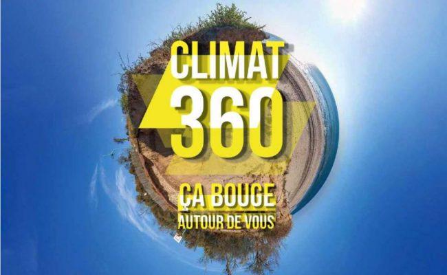 Visite guidée de l'exposition Climat 360°, ça bouge autour de vous