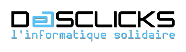 Logo Desclicks - l'Informatique Solidaire