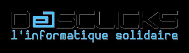 Logo Desclicks - l'Informatique Solidaire