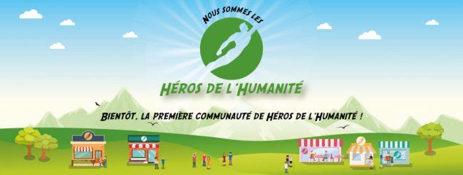 Présentation et réflexion autour du projet Les Héros de l'Humanité
