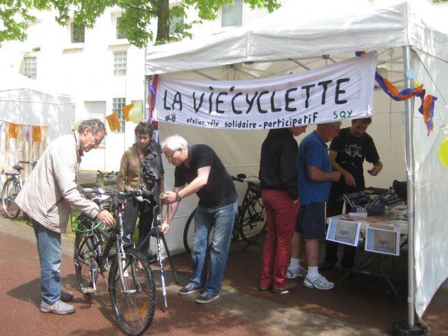 Parcours Saint-Quetinois des possibles -Atelier vélo Vie'Cyclette