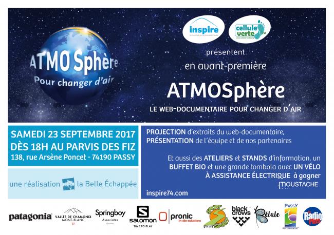 Avant-première d'ATMOSphère, le web-documentaire pour changer d'air