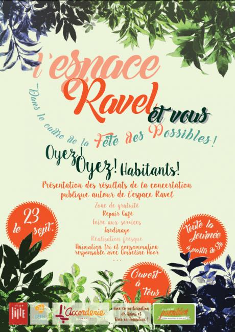 La fête des possibles à Lille - l'Espace Ravel et vous?