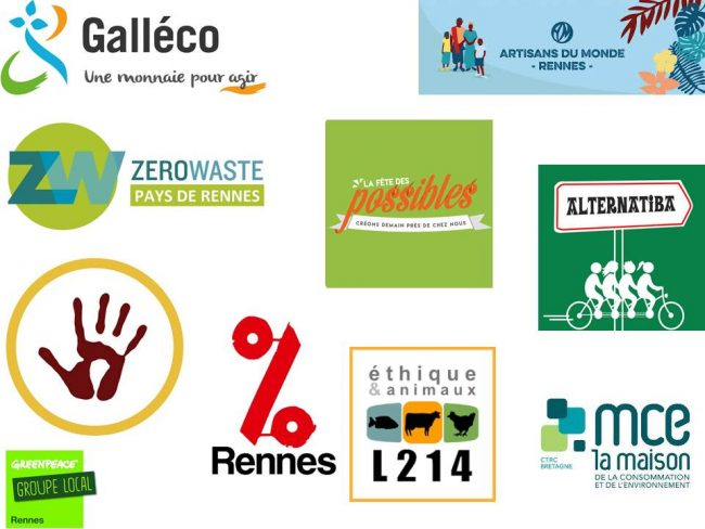 Logo Alternatiba Rennes - Greenpeace groupe Local de Rennes