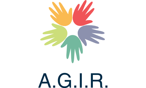 Logo AGIR Association Générosité Insersion Roms
