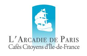 Logo Cafés Citoyens d'Ile-de-France - Arcadie de Paris
