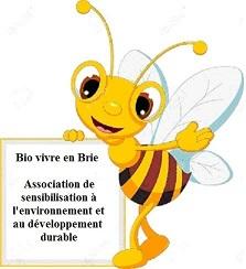 Logo Bio vivre en Brie