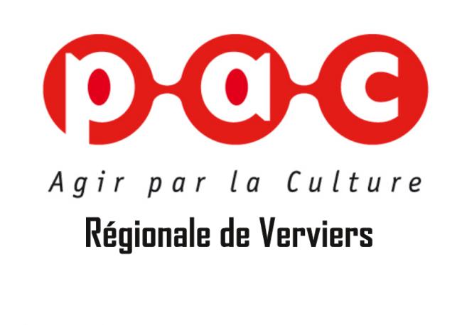 Logo Présence et Action Culturelles Régionale de Verviers