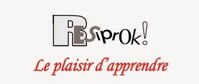 Logo RESiprok, réseau d'échange de savoirs de Grâce-Hollogne (.be)