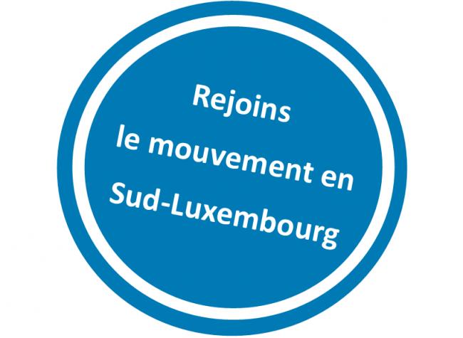 Logo Réseau Transition Sud-Luxembourg, CIEP Lux et Nature et Progrès