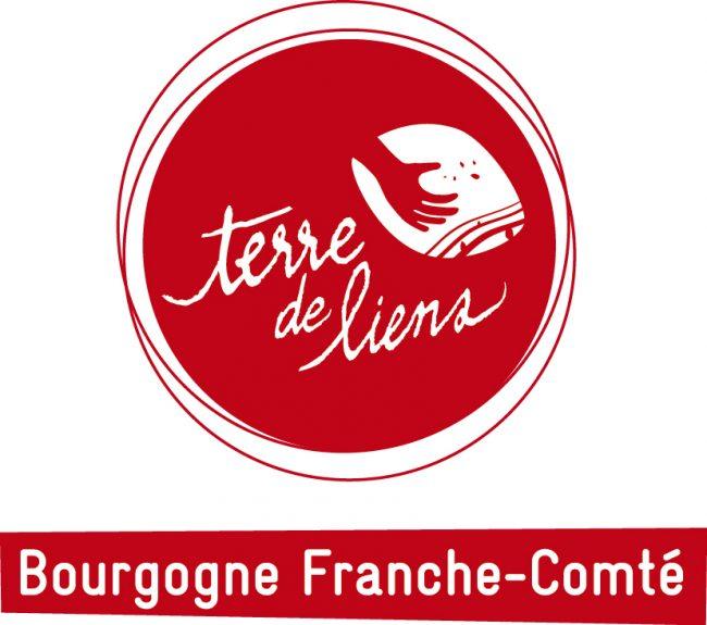 Logo Terre de Liens Bourgogne-Franche-Comté