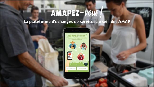 Soirée de lancement de l'application mobile AMAPEZ-vous!