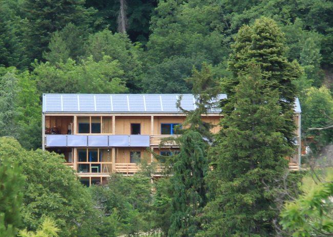Visite d'Ecoravie, habitat participatif écologique et intergénérationnel
