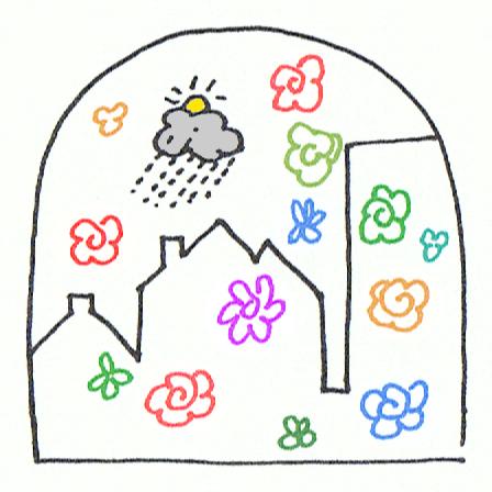 Logo comité de quartier du Vieux ste Anne via Auderghem en transition