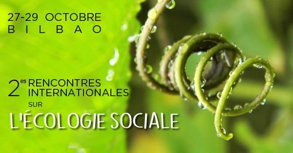 Logo Militants pour l'écologie sociale, organisateurs des rencontres internationales