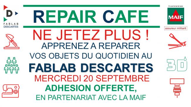 Repair Café Fablab Descartes - 20/09/2017