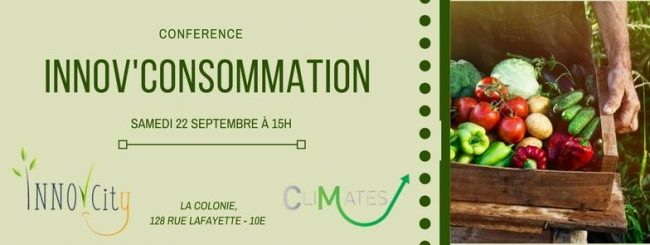Conférence Innov'Consommation