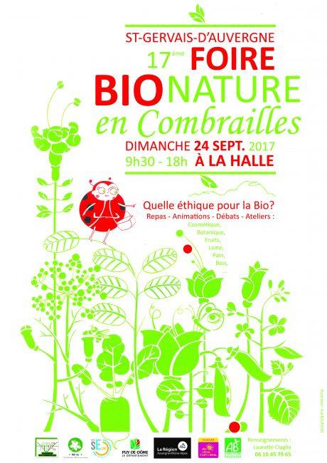 Foire Bio Nature en Combrailles