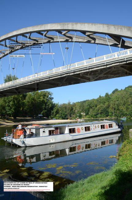 Découverte du plus gros bateau solaire fluvial de France !