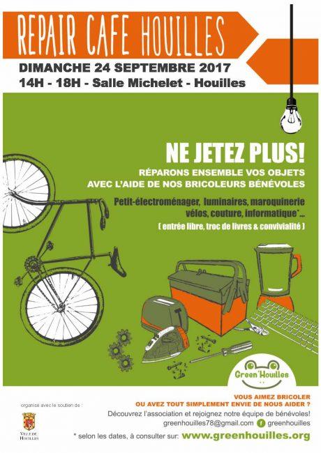 Repair Café Houilles : réduire nos déchets et consommer mieux, c'est possible !