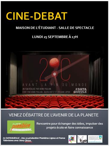 Rencontre Universitaire - Ciné-débat