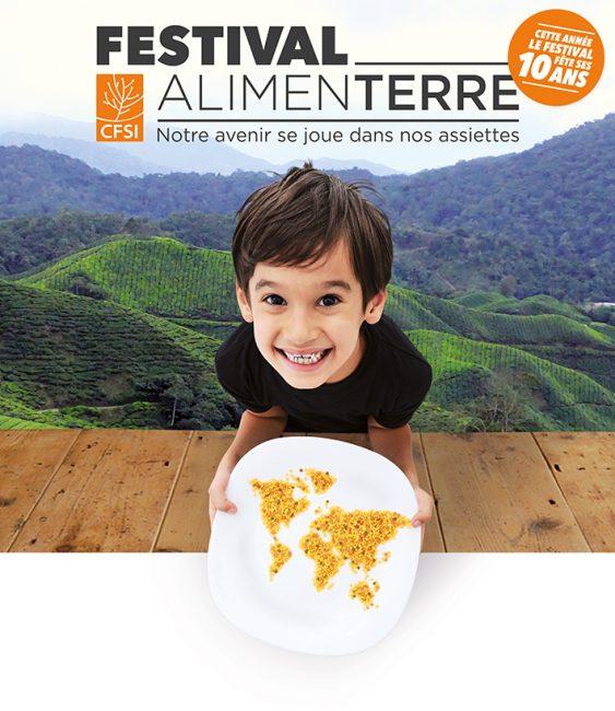 Atelier construction des animations dans le cadre du Festival de films AlimenTERRE novembre 2017 en Auvergne