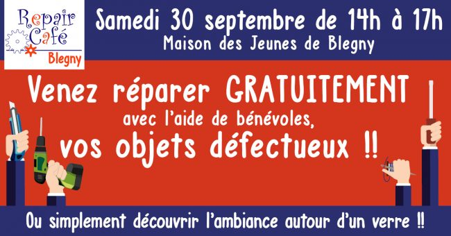 2e Repair Café de Blegny