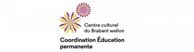 Logo Coordination de l'éducation permanente du Brabant wallon