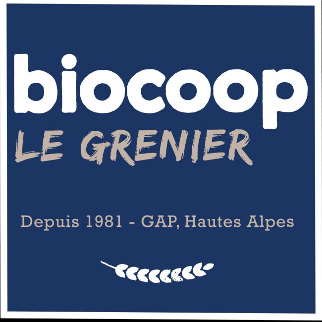 Logo Biocoop le Grenier & Agribio 05