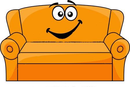 Atelier inopiné sur le canapé