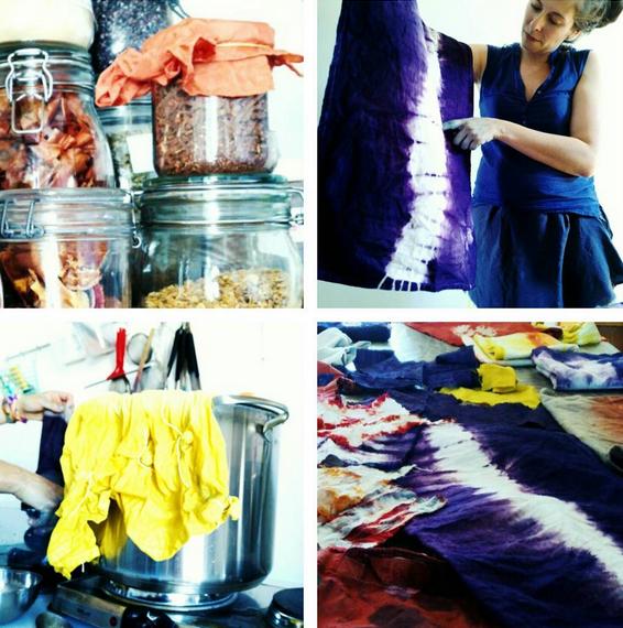 Couleurs Botaniques, teintures naturelles textiles
