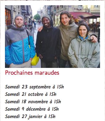 Maraude - Espace Mouneyra