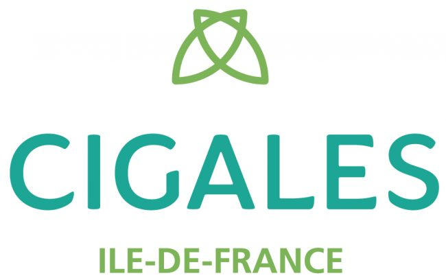 Logo L'Association Régionales des CIGALES Ile-de-France