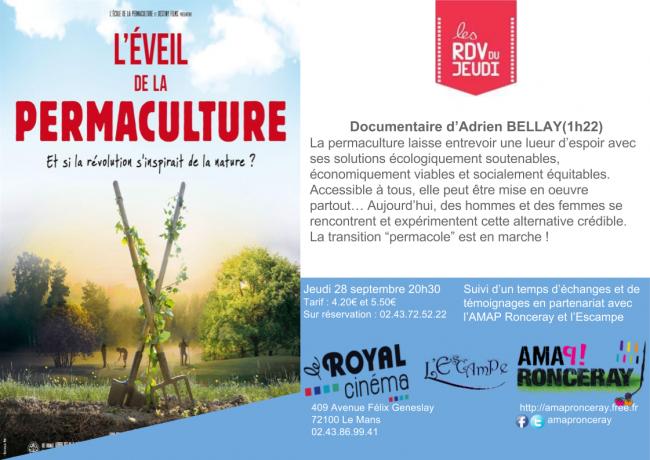 Ciném'AMAP : L'éveil de la permaculture